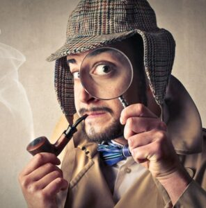 detective spying on competitors keywords